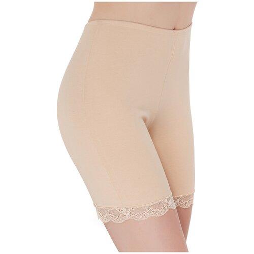 Norddiva Трусы панталоны Polina, размер L, телесный