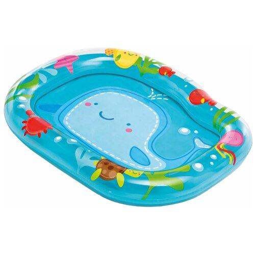 Детский бассейн Intex Lil' Whale Baby 59406 детский бассейн intex royal castle baby 57122