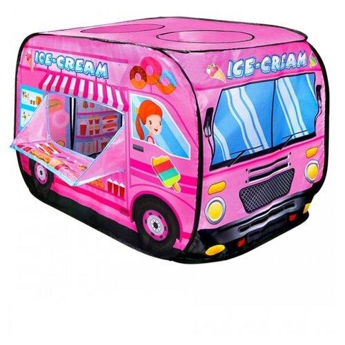 Купить Палатка Рыжий кот Фургончик мороженного, розовый, Игровые домики и палатки