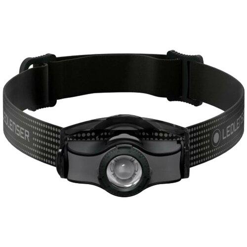 Фото - Налобный фонарь LED LENSER MH3 черный/серый налобный фонарь mh3 черный с серым