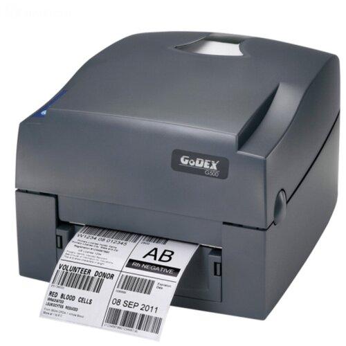Термотрансферный принтер этикеток Godex GE500 UES (5 ips, втулка 1
