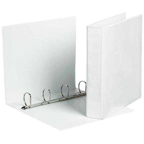Купить Attache Папка А4 на 4-х кольцах, 65 мм белый, Файлы и папки