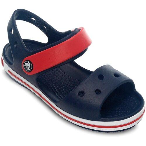 Сандалии Crocs Crocband размер 21(С4), Navy/Red шлепанцы crocs crocband flip размер 36 37 m4 w6 navy