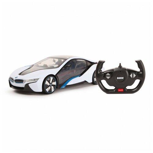 Машина Rastar РУ 1:14 BMW i8 Белая 49600-11