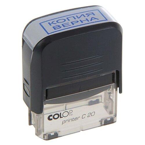 Фото - Штамп автомат Копия верна Colop 38*14мм черный 1266854 штамп colop printer с20 прямоугольный копия верна синий