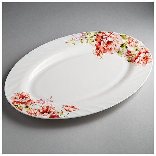 Фото - 0001L1/62-SK Блюдо овальное 35,5см Марселла  салатник teropal 0001d9 50 sk asti 21 5 см