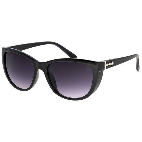 Солнцезащитные очки женские/Очки солнцезащитные женские/Солнечные очки женские/Очки солнечные женские/21kdgaer1202132c1vr черный,синий/Vittorio Richi/Кошачий глаз/модные