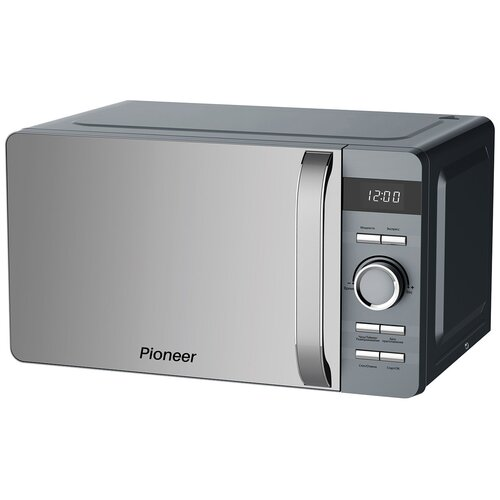 Микроволновая печь Pioneer MW230D 20 л с LED-дисплеем и цифровым управлением, 8 автоматических программ, 5 уровней мощности, таймер, 700 Вт
