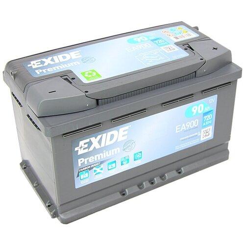 Автомобильный аккумулятор Exide Premium EA900
