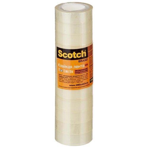 Купить 3M клейкая лента 12 мм х 10 м (12 шт), Скотч
