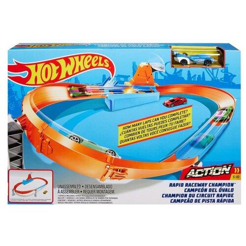 набор игровой mattel hot wheels мертвая петля Игровой набор Mattel Hot Wheels Чемпион