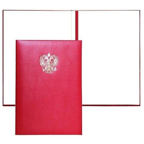 Купить Комус Папка адресная А4 Герб, 5 штук бордовый, Файлы и папки