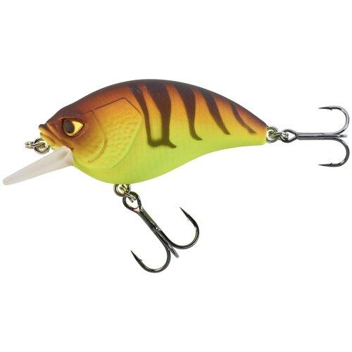Воблер для хищной рыбы 53 F, размер: NO SIZE, цвет: Черный/Неоновый Морковный/Неоновый Желтый CAPERLAN Х Декатлон