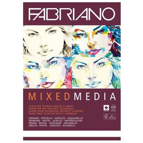 Купить Альбом для рисования Fabriano Mixed Media 29.7 х 21 см (A4), 250 г/м², 40 л., Альбомы для рисования