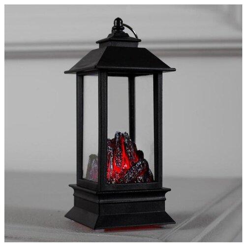 тарелка это твой день розовая 13 5 х 12 5 см 5066418 Фигурка Luazon Lighting Камин 13 х 5 х 5 см черный