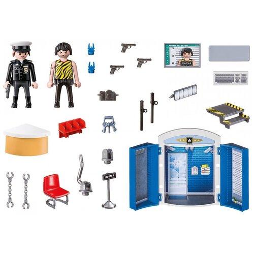 Купить Конструктор Playmobil City action 70306 Полицейский участок, Конструкторы