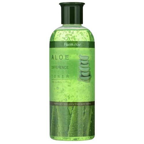 Фото - Farmstay Тонер с экстрактом алоэ Visible Difference Fresh Aloe, 350 мл эмульсия для лица с экстрактом алоэ aloe visible difference fresh emulsion 350мл