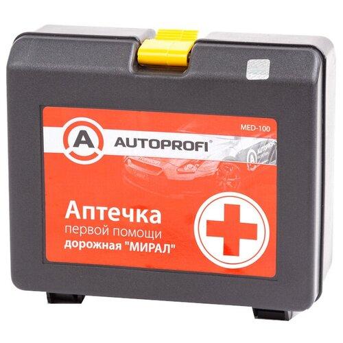 Аптечка первой помощи дорожная AUTOPROFI MED-100 ТУ 21.20.24-019-26528997-2015