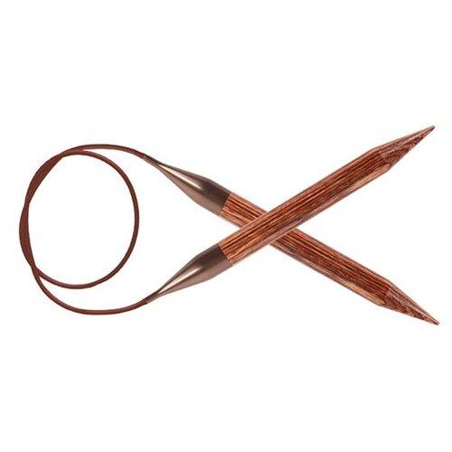 Купить Спицы Knit Pro Ginger 31135, диаметр 7 мм, длина 120 см, коричневый