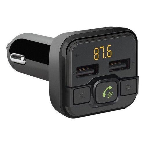 FM-трансмиттер DEFENDER RT-Edge, Bluetooth, USB 2.0, micro SD, черный, 68012 defender fm трансмиттер rt edge bt hf usb 2 4 a