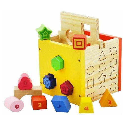 Сортер Vulpi Куб сортер red box активный куб