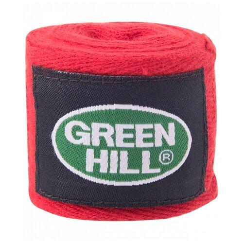 Кистевые бинты Green hill BC-6235a 2,5 м красный