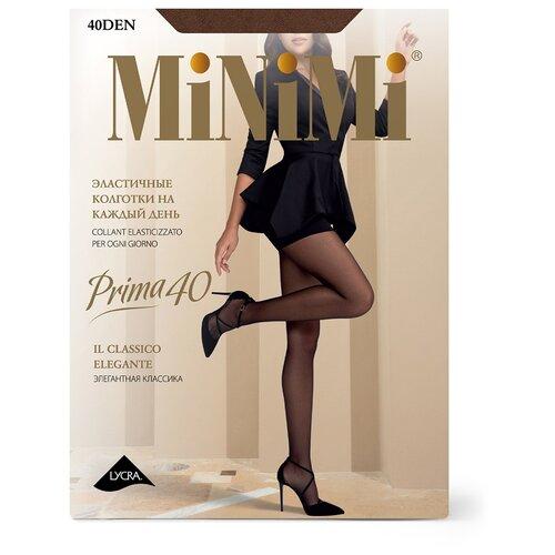 Фото - Колготки MiNiMi Prima, 40 den, размер 3-M, daino (бежевый) колготки minimi slim control 40 den размер 3 m daino бежевый