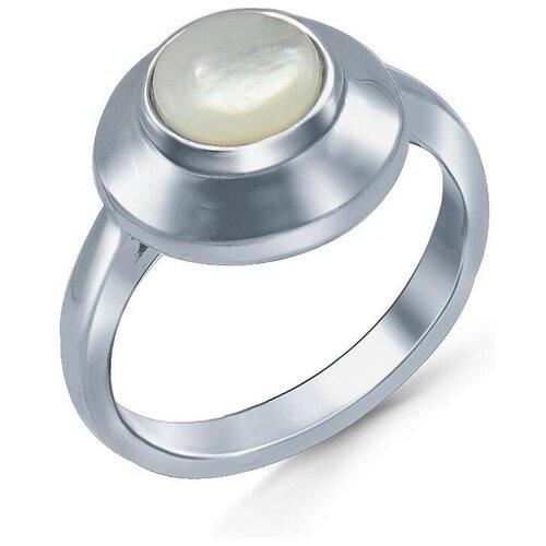 Silver WINGS Кольцо с перламутром из серебра 21set15675a-113, размер 19 браслеты silver wings 04fyb5172a 113