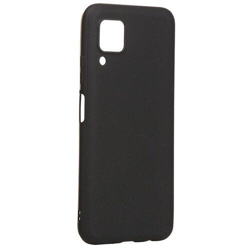 Чехол Brosco для Huawei P40 Lite TPU Matte Black HW-P40L-COLOURFUL-BLACK чехол brosco для huawei p30 lite black hw p30l softrubber black