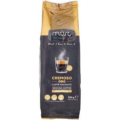 Кофе молотый Must Cremoso Oro, 250 г