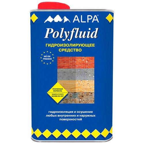 Гидроизоляция ALPA Polyfluid защита от влаги (1л)