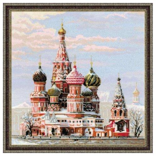 Фото - Риолис Набор для вышивания крестом Москва. Собор Василия блаженного 40 x 40 (1260) риолис набор для вышивания крестом русская охота 60 x 40 1639