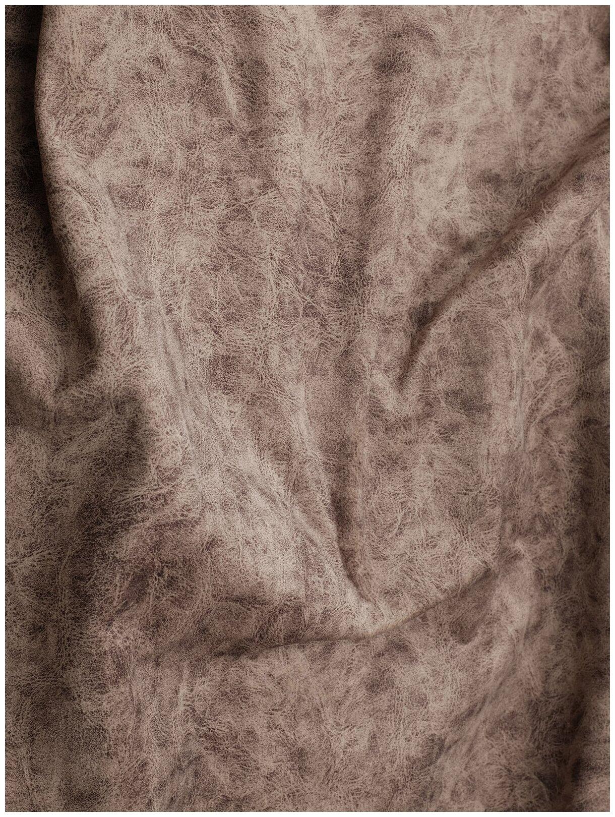 Ткань мебельная (микрофибра) VINTAGE 140х100см, цвет коричневый — купить по выгодной цене на Яндекс.Маркете