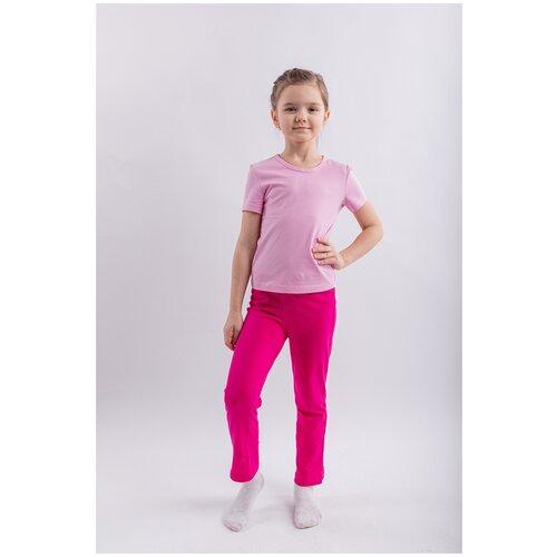 Купить Фуфайка для девочки Свiтанак, розовый, 110, 116-60, Футболки и майки