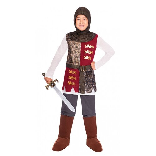 Детский костюм рыцаря средневековья (12080), 110 см.