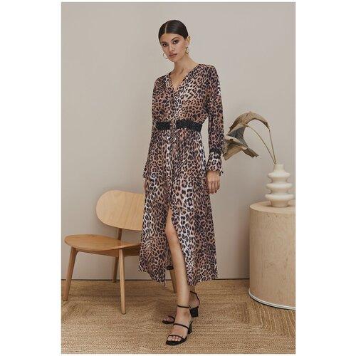Пляжное платье Laete, размер S(44), леопард