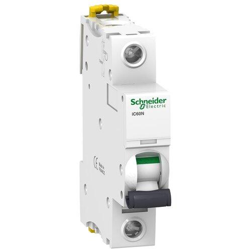 Автоматический выключатель Schneider Electric Acti 9 iC60N 1P (C) 6кА 16 А автоматический выключатель schneider electric acti 9 ic60n 1p c 6ка 3 а