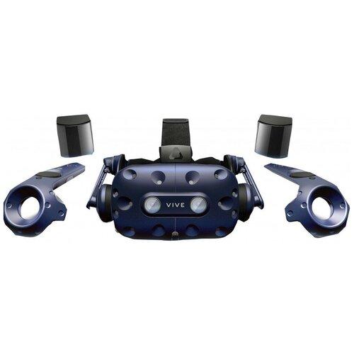 Шлем виртуальной реальности HP HTC Vive Pro Full Kit VR System, синий