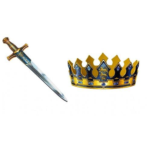 Корона и меч короля