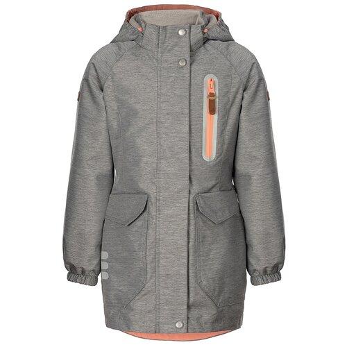 Купить AOSS21JK2T010 Куртка (ветровка) д/дев. Айла 11-12 л размер 152-76-60 цвет серый меланж_коралловый, Oldos, Куртки и пуховики