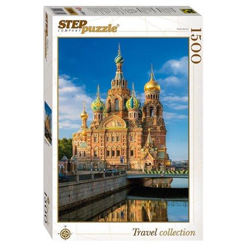 Купить Пазл Step puzzle Travel Collection Храм Спаса на Крови (83055), 1500 дет., Пазлы