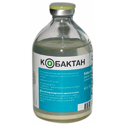 КОБАКТАН 2,5 % для лечения заболеваний бактериальной этиологии у крупного рогатого скота и свиней 50 мл раствор для инъекций (1 шт)