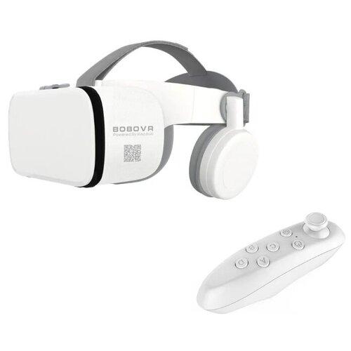Очки виртуальной реальности для смартфона BOBOVR Z6+геймпад ICADE, белый