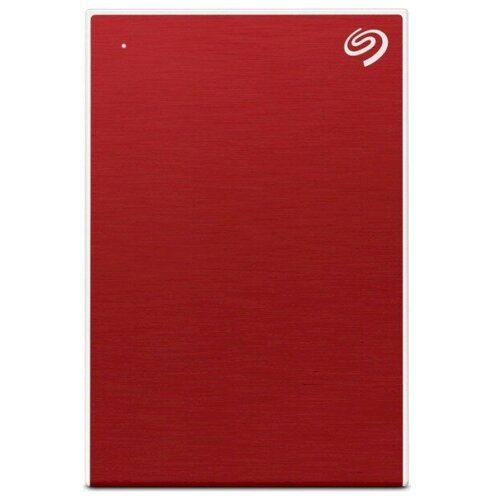 External HDD 2.5 4.0Tb Seagate One Touch USB3.2 Gen 1, Red