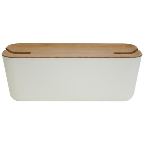 Короб Bosign Hideaway XL белый/коричневый
