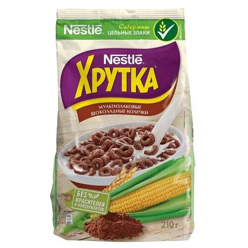 Фото - Готовый завтрак Хрутка Шоколадные колечки, пакет, 210 г готовый завтрак хрутка шоколадные колечки пакет 210 г
