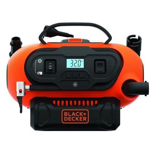 Автомобильный аккумуляторный компрессор BLACK+DECKER BDCINF18N, без аккумулятора и ЗУ