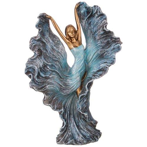Статуэтка Lefard Фьюжн Девушка, 29 см синий/золотой статуэтка faberge oc33719 серый золотой черный