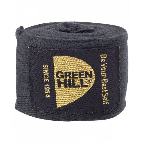 Кистевые бинты Green hill BC-6235c 3,5 м черный