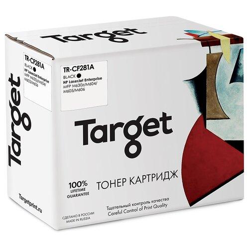 Фото - Картридж Target CF281A, черный, для лазерного принтера, совместимый картридж target fx3 черный для лазерного принтера совместимый